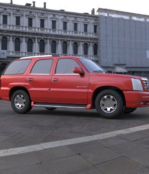 Cadillac Escalade 2002  3ds and obj - Extended License 3D Game Models : OBJ : FBX 3D Models Extended Licenses Digimation_ModelBank