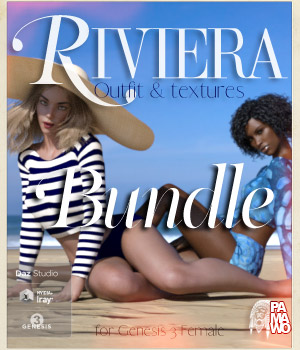 Riviera Bundle for GF3 3D Figure Assets pamawo