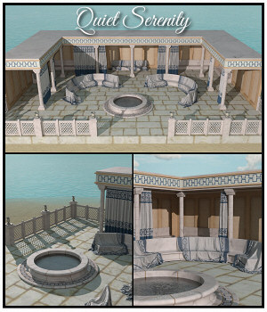Quiet Serenity for Daz Studio 3D Models Lully