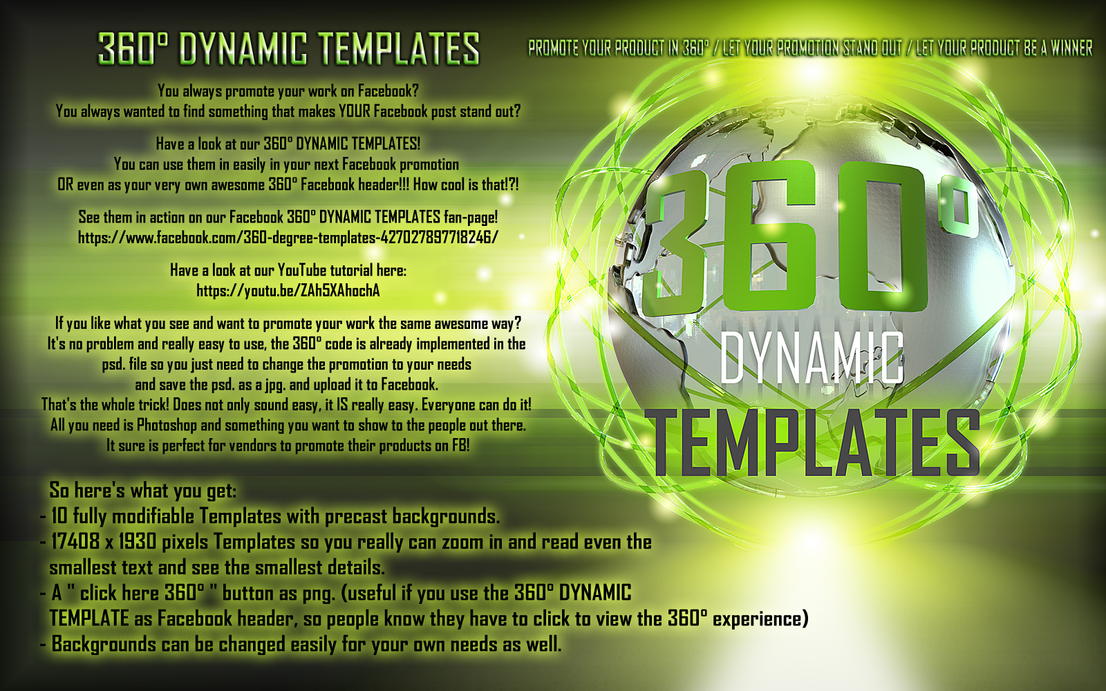 360 Degrees Dynamic Templates