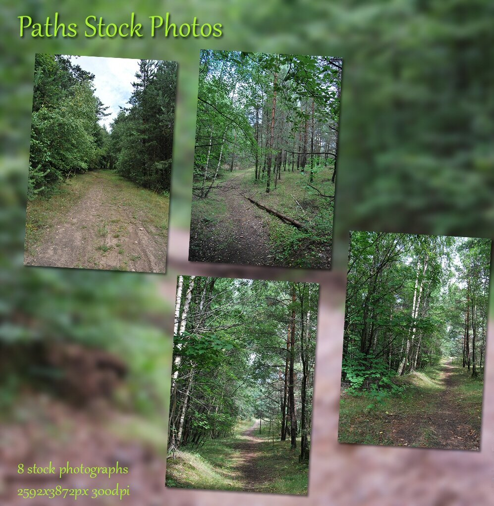 Paths Stock Photos