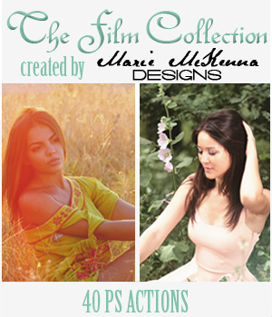 PS Actions - The Film Collection 2D Graphics Merchant Resources MarieMcKennaDesigns