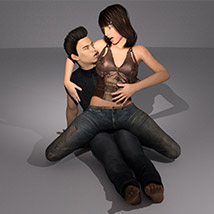 Pleasure and Pain - Expressions for Genesis 3 Male image 1