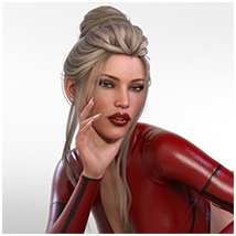 Z Scarlet Visions - Poses and Partials for Genesis 3 and 8 Females image 3