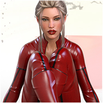 Z Scarlet Visions - Poses and Partials for Genesis 3 and 8 Females image 5