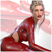 Z Scarlet Visions - Poses and Partials for Genesis 3 and 8 Females image 7