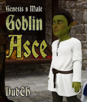 Goblin Asce for G8M 3D Figure Assets DubTH