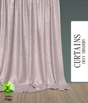 Curtains :: Daz IRAY Shaders 3D Figure Assets Merchant Resources Cyrax3D