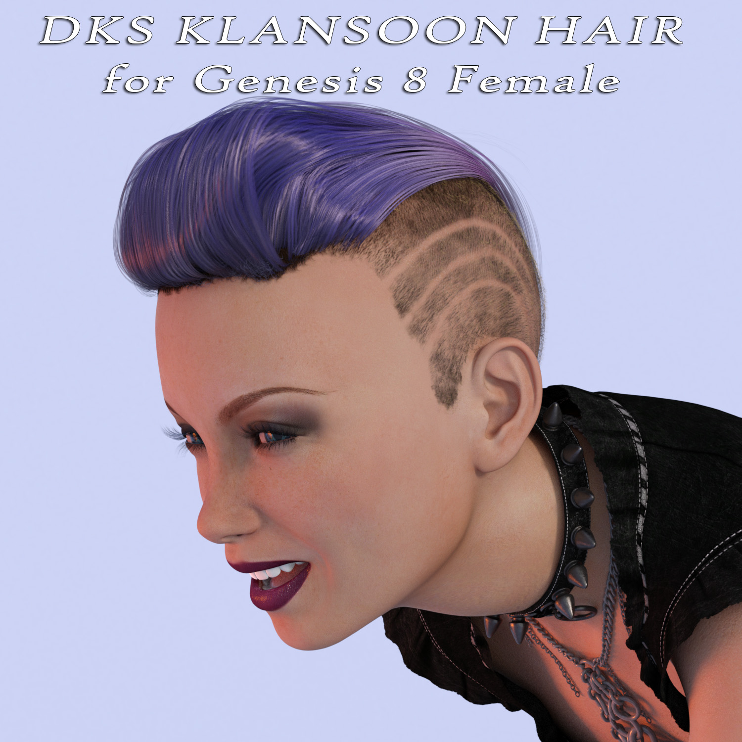 DKS Klansoon Hair for Genesis 8 Female