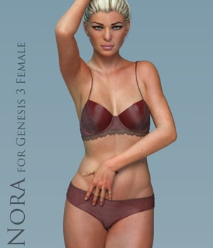 Nora for Genesis 3 Female 3D Figure Assets adamthwaites