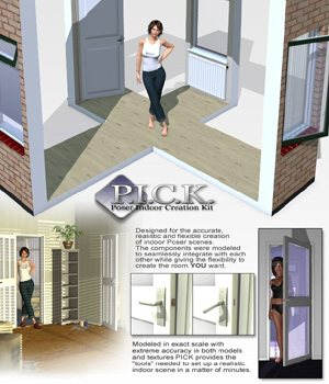 P.I.C.K. Ultimate - for Poser 3D Models VanishingPoint