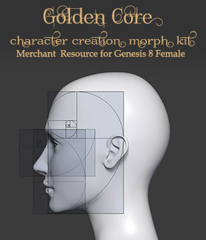 Golden Core Merchant Resource for G8F 3D Figure Assets Merchant Resources Sangriart