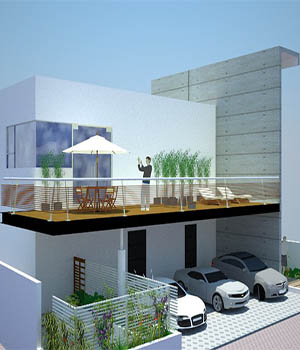 Minimal house - Extended License 3D Game Models : OBJ : FBX 3D Models Extended Licenses rafaelbalta