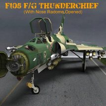F105F/G Thunderchief - for Poser image 1