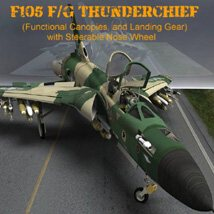 F105F/G Thunderchief - for Poser image 4