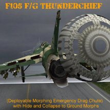 F105F/G Thunderchief - for Poser image 5