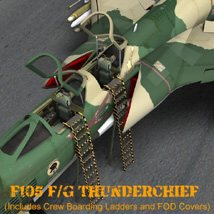 F105F/G Thunderchief - for Poser image 7