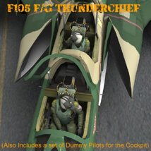 F105F/G Thunderchief - for Poser image 8