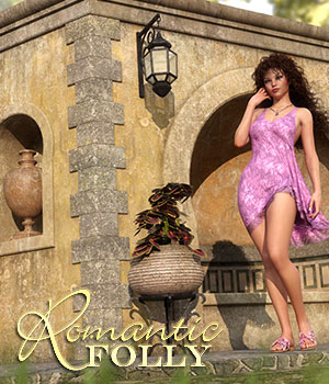 Romantic Folly 3D Figure Assets 3D Models RPublishing