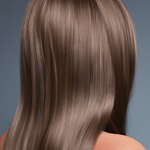 Sanni Hair for Genesis 3 and 8 Females image 3