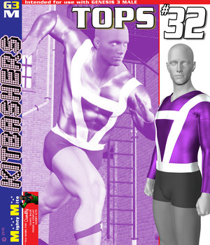 MMKBG3M Tops 032 3D Figure Assets MightyMite