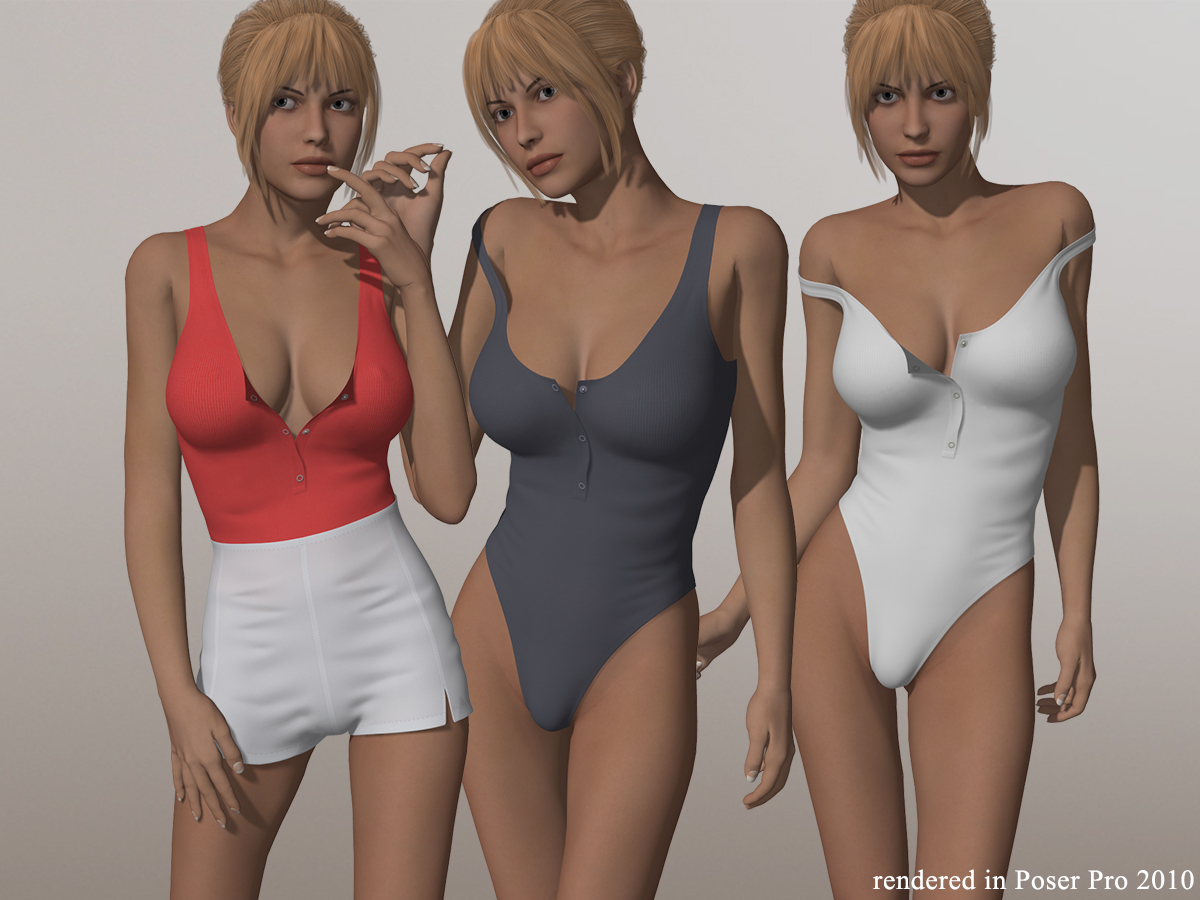 Thong Bodysuit Lingerie I for V4A4G4S4Elite and Poser