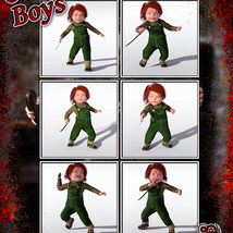 Good Boys Doll Mini Pose Pack image 2