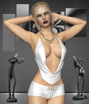 Hot Strappy for Genesis 8 Females 3D Figure Assets B-Rock