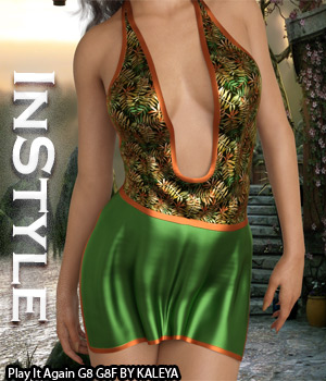 InStyle - Play It Again G8 3D Figure Assets -Valkyrie-