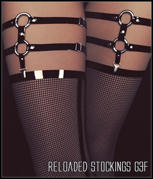 Reloaded Stockings G3F 3D Figure Assets SynfulMindz