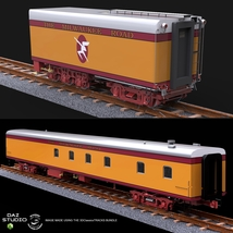 HIAWATHA TRAIN OBJ FBX - EXTENDED LICENSE image 3