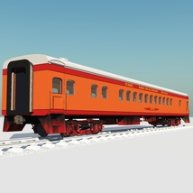 HIAWATHA TRAIN OBJ FBX - EXTENDED LICENSE image 4
