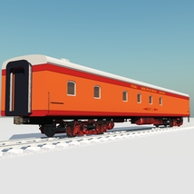 HIAWATHA TRAIN OBJ FBX - EXTENDED LICENSE image 5