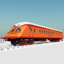 HIAWATHA TRAIN OBJ FBX - EXTENDED LICENSE image 6