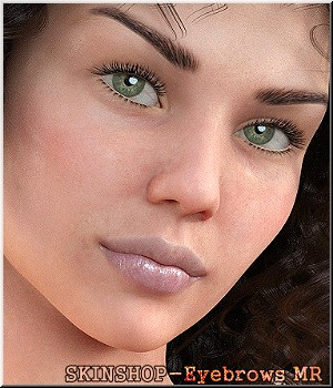 Skinshop - Eyebrows - Merchant Resource 2D Graphics Merchant Resources LUNA3D