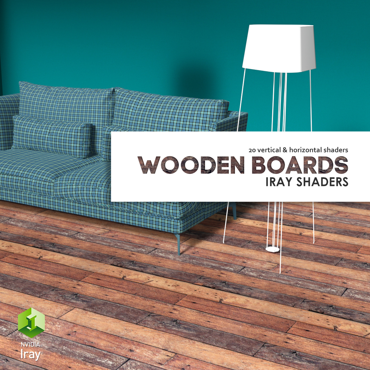 WoodenBoards :: Daz IRAY Shaders