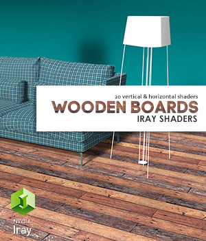 WoodenBoards :: Daz IRAY Shaders 3D Figure Assets Merchant Resources Cyrax3D