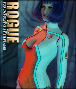 Rogue for Impulsive G8F 3D Figure Assets Sveva