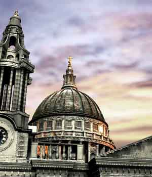 London_St Paul Church - Extended License 3D Game Models : OBJ : FBX 3D Models Extended Licenses patidarshyam
