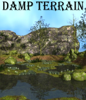 Damp terrain Poser 3D Models JeffersonAF