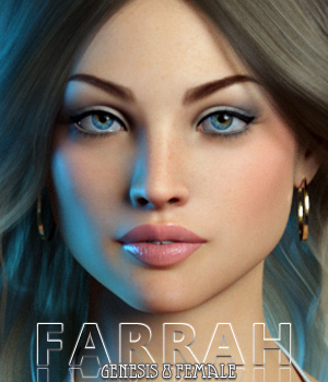 Farrah For Genesis 8 Female  3D Figure Assets Freja