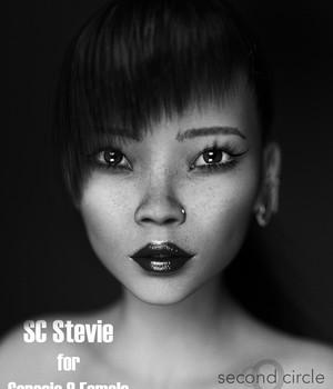SC Stevie for Genesis 8 Female 3D Figure Assets secondcircle