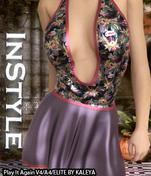 InStyle - Play It Again V4/A4/Elite 3D Figure Assets -Valkyrie-