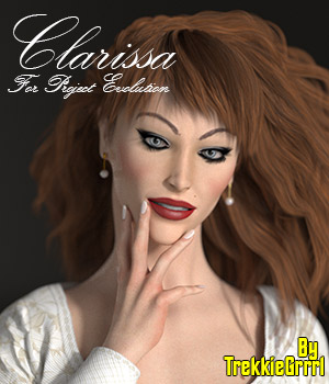 Clarissa For Project Evolution 3D Figure Assets TrekkieGrrrl