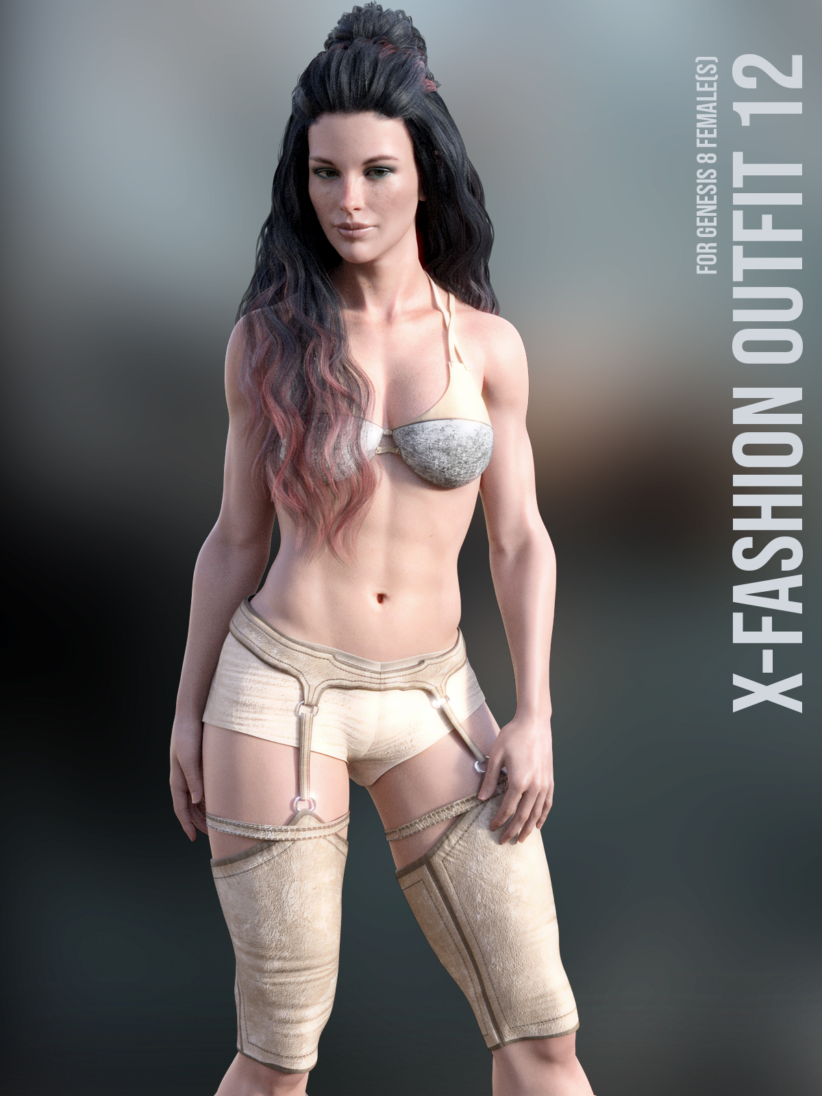 X-Fashion Outfit 12 For Genesis 8 Females