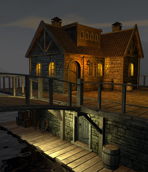House in Riften 3D Models 1971s