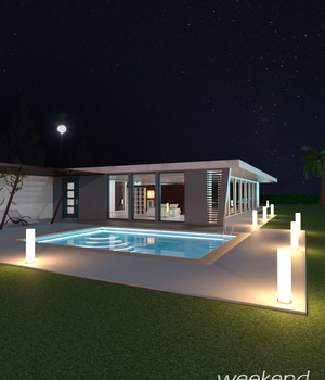 Weekend Holiday House 3D Models adiman