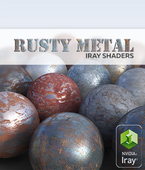 Rusty metal :: Daz IRAY Shaders 2D Graphics 3D Figure Assets Merchant Resources Cyrax3D