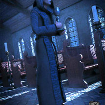 Cloisters of Darkness: Monk Robes for Genesis 8 Male image 2