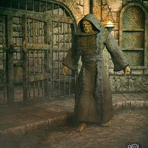 Cloisters of Darkness: Monk Robes for Genesis 8 Male image 3